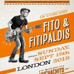 Fito & Los Fitipaldis actuarán en el Royal Albert Hall de Londres el 16 de septiembre de 2018
